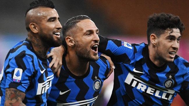 Con un gol de Lautaro, Inter le ganó un partidazo a Fiorentina