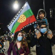 La bandera mapuche da la vuelta al mundo: BBC explica por qué se transformó en un símbolo del Apruebo