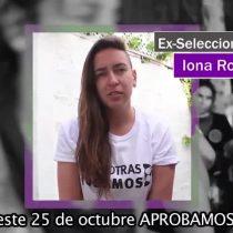 #JuntasHacemosHistoria: Futbolistas feministas se unen a la campaña por el Apruebo