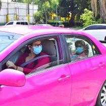 Taxis rosados para las mujeres en segunda ciudad más importante de Honduras