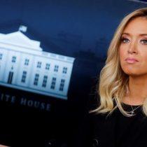 La portavoz de Trump, Kayleigh McEnany, da positivo al examen de coronavirus