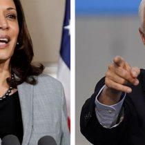 Kamala Harris y Mike Pence se enfrentan hoy en debate público tras el bochorno de Trump versus Biden
