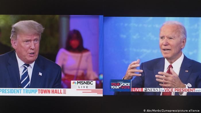 Apagarán micrófonos de Trump y Biden durante partes del próximo debate presidencial