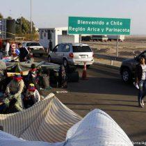Inmigrantes en Chile piden