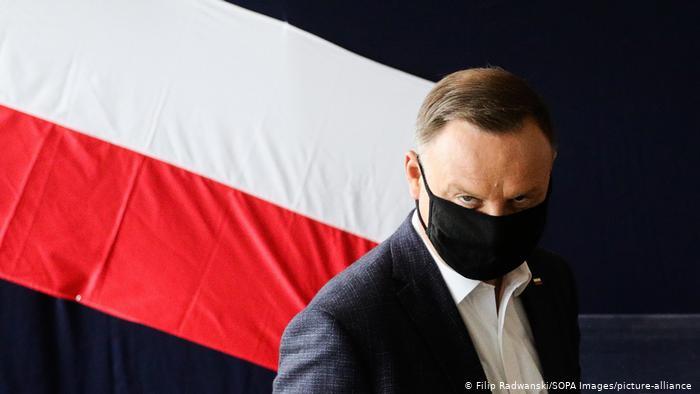 Presidente polaco, Andrzej Duda, da positivo en test de Covid-19
