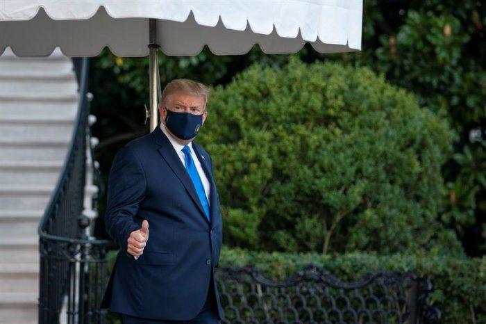 """De la Casa Blanca al hospital: Trump fue internadopor """"precaución"""" tras contagio por coronavirus"""