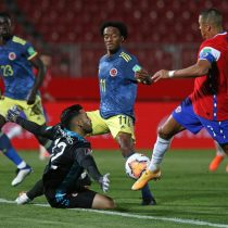 Los goles del amargo empate entre Chile y Colombia por las Clasificatorias