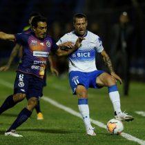 Católica consigue empate con gusto a poco y Coquimbo goleó a Mérida y está con un pie en la siguiente ronda de la Sudamericana