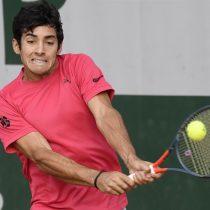 Cristian Garín alcanza su mejor registro en un Grand Slam luego de vencer a Marc Polmans en la segunda ronda de Roland Garros