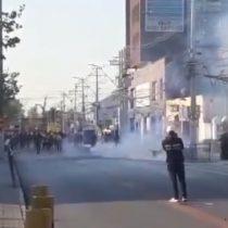 Barricadas, desórdenes y ataque a la 20° Comisaría de Puente Alto marcaron jornada de protestas en la comuna