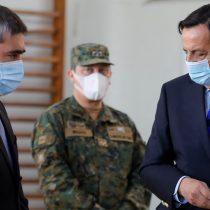 Autogol en Palacio: defensa de Víctor Pérez genera conflictos en el Gobierno por intento de endosar responsabilidad de Carabineros a ministro Desbordes