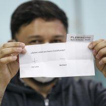 Último recuento del Servel: 78,27% para el Apruebo y 78,99% para la Convención Constitucional
