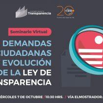 """[EN VIVO] Workshop CPLT: """"Demandas ciudadanas y evolución de la Ley de Transparencia"""""""