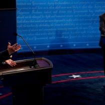 Acusaciones cruzadas en un ordenado debate entre Donald Trump y Joe Biden