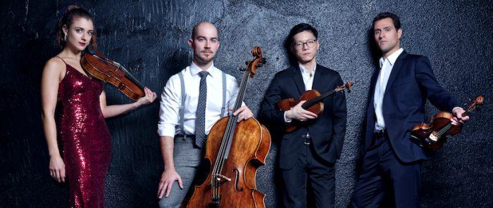 Exitosa agrupación Dover Quartet se presenta en Chile en formato online