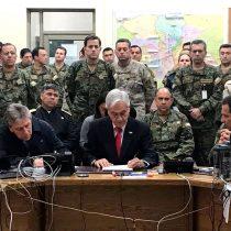 """El """"Plan Zeta"""" de Piñera: el informe de la DINE sobre la amenaza extranjera que hizo que el Presidente hablara de guerra"""