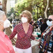 Vecinos de Plaza Italia piden que no haya violencia en conmemoración del 18-O