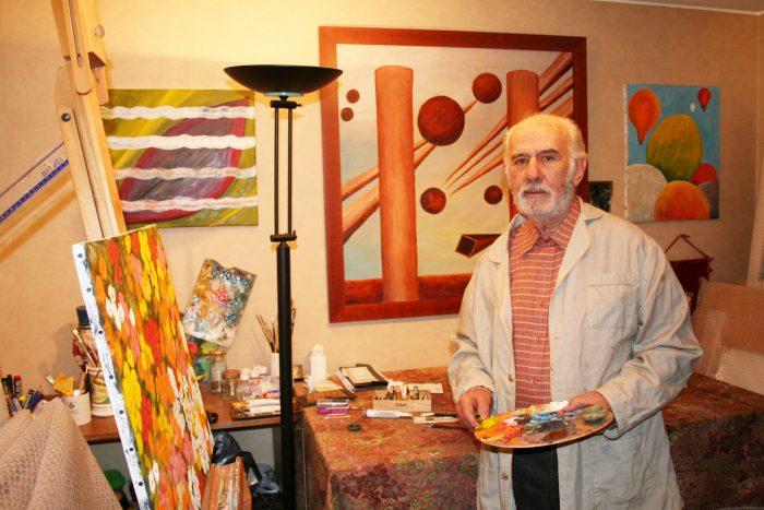 Eugenio Cruz Vargas, el pintor y poeta en la memoria de Chile