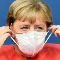 Ángela Merkel alerta que la pandemia de covid-19 puede salirse de control