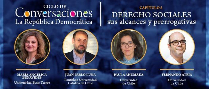 """""""Derechos sociales, sus alcances y prerrogativas"""" es el nuevo tema del ciclo """"La República Democrática"""" que organiza El Mostrador"""