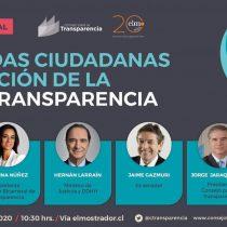 """El Mostrador transmitirá seminario del CPLT """"Demandas ciudadanas y evolución de la Ley de Transparencia"""""""