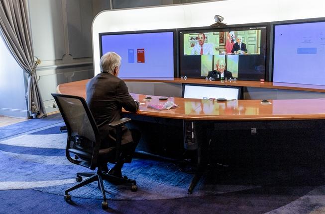 Piñera abordó la violencia, el plebiscito y la pandemia en reunión con expresidentes Frei y Lagos
