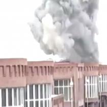 Guerra Armenia-Azerbaiyán: registran momento exacto de un ataque con misiles a ciudad de Ganja en Nagorno Karabaj
