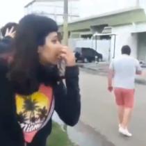Argentina: Una verdadera batalla campal entre veganos y carniceros se registró a las afueras de frigorífico en Monte Grande