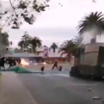 Incidentes en Iquique y La Serena en el marco de las explicaciones del general director Mario Rozas por lo sucedido en puente Pío Nono