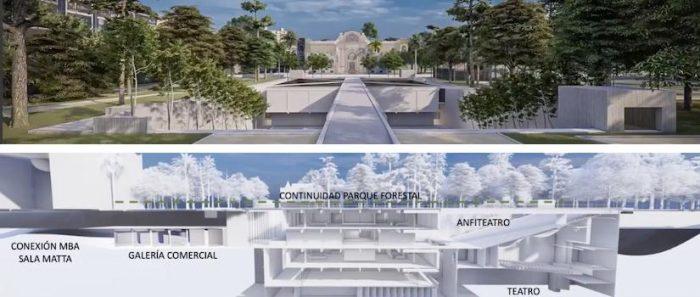 Las críticas al inconsulto proyecto de modificación del Parque Forestal ante una posible privatización del espacio público