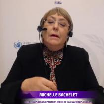 """Bachelet sobre el """"histórico"""" plebiscito: """"Nadie tiene dudas que estoy por el Apruebo y la Convención Constitucional"""""""