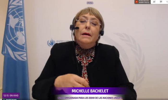 Bachelet anuncia que votará por el