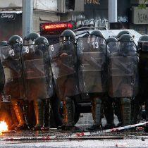 Balance de Carabineros tras nueva jornada de manifestaciones: 9 detenidos yataque a comisaría en Puente Alto