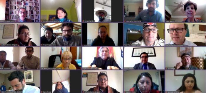 """Todavía no hay votación para los escaños reservados: De Urresti llama a la derecha a desistir de su idea de """"sub representar"""" a los pueblos originarios"""