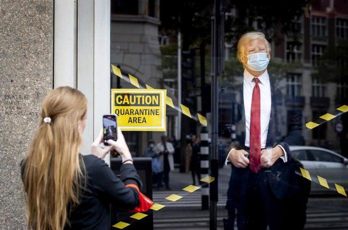 Covid-19 de Trump provoca caída en los mercados y abre interrogantes sobre el futuro de la elección presidencial en EE.UU.