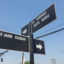 En Renca Jaime Guzmán no la lleva: concejo municipal elimina su nombre de importante avenida