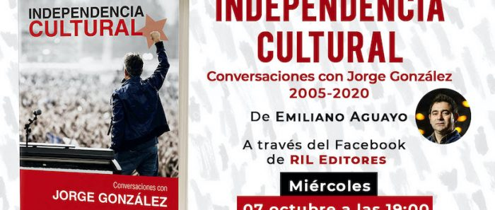 """Alejandra Matus presenta el libro """"IndependenciaCultural"""" vía online"""