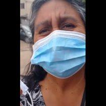 """""""Quiero un país mejor"""": mujer mapuche de Lo Hermida no pudo evitar emocionarse tras votar en el Plebiscito"""