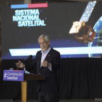 """Piñera anuncia nuevo Sistema Nacional Satelital: """"Chile da un gran salto adelante en su incorporación al mundo del espacio"""""""