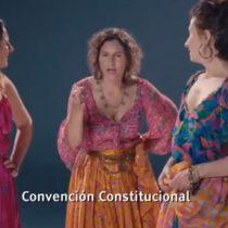 Franja del Apruebo sorprendió con emblemáticos personajes de teleseries chilenas