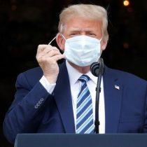 Trump aparece en primer acto tras diagnóstico de Covid-19: