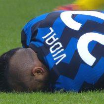 Con Vidal en cancha: el Inter sufrió para empatar con el Parma antes de visitar al Real Madrid