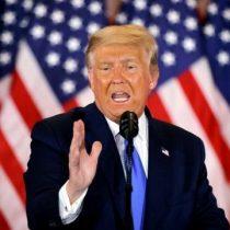 Trump sigue enfocado en las demandas legales sin reconocer su derrota