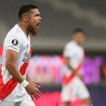 Copa Libertadores: Racing y Flamengo igualaron en llave de chilenos y Paulo Díaz salvó a River sobre el final en empate ante Paranaense