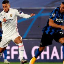Real Madrid vence por 3 a 2 al Inter de Milán por la fase de grupos de la Champions League