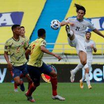 Clasificatorias sudamericanas: Uruguay castiga a Colombia en Barranquilla