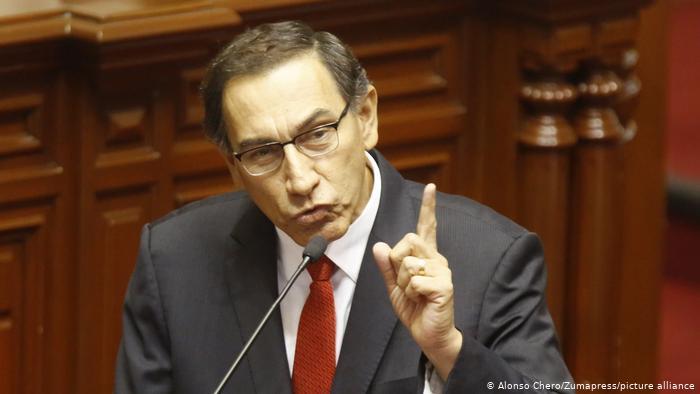 Martín Vizcarra cuestiona legitimidad de nuevo Gobierno peruano