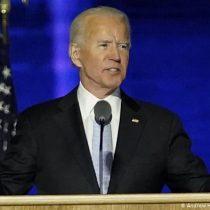 Joe Biden en su primer discurso como presidente electo: