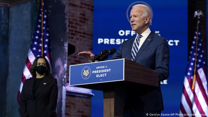 Joe Biden califica de
