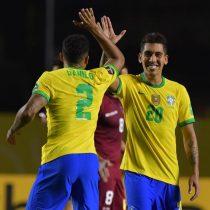 Firmino salvó por la cuenta mínima a un Brasil gris sin Neymar contra Venezuela